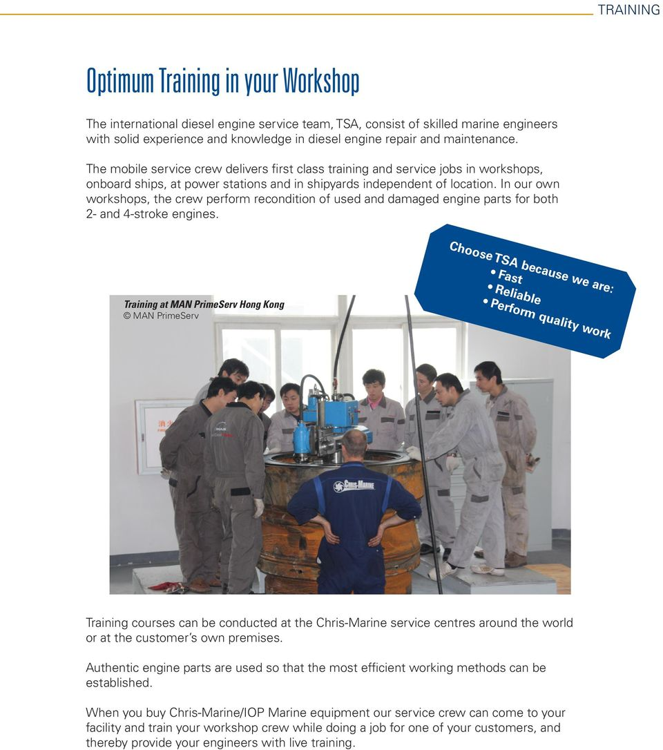 SUPERIOR ENGINE CARE SOLUTIONS FOR WORKSHOPS  THE OPTIMUM SOLUTION