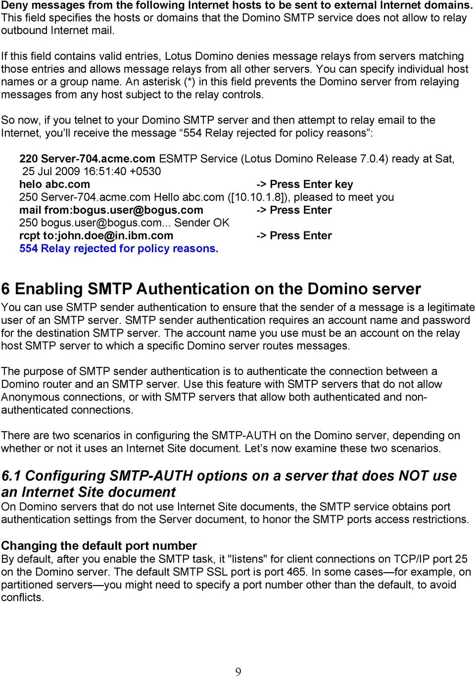 Understanding Smtp Authentication And Securing Your Ibm Lotus Domino