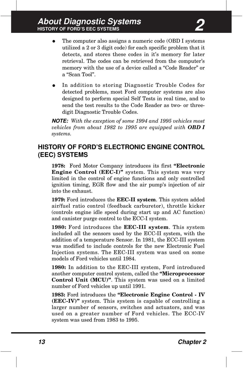 FORD DIGITAL CODE READER  (Front Cover) - PDF