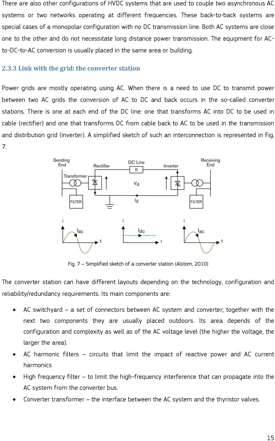 Hvdc Submarine Power Cables In The World Pdf Rectifier Circuit Is That It Expands Easily Into A Polyphase Version Both Ac Systems Are Close One To Other And Do Not Necessitate Long Distance