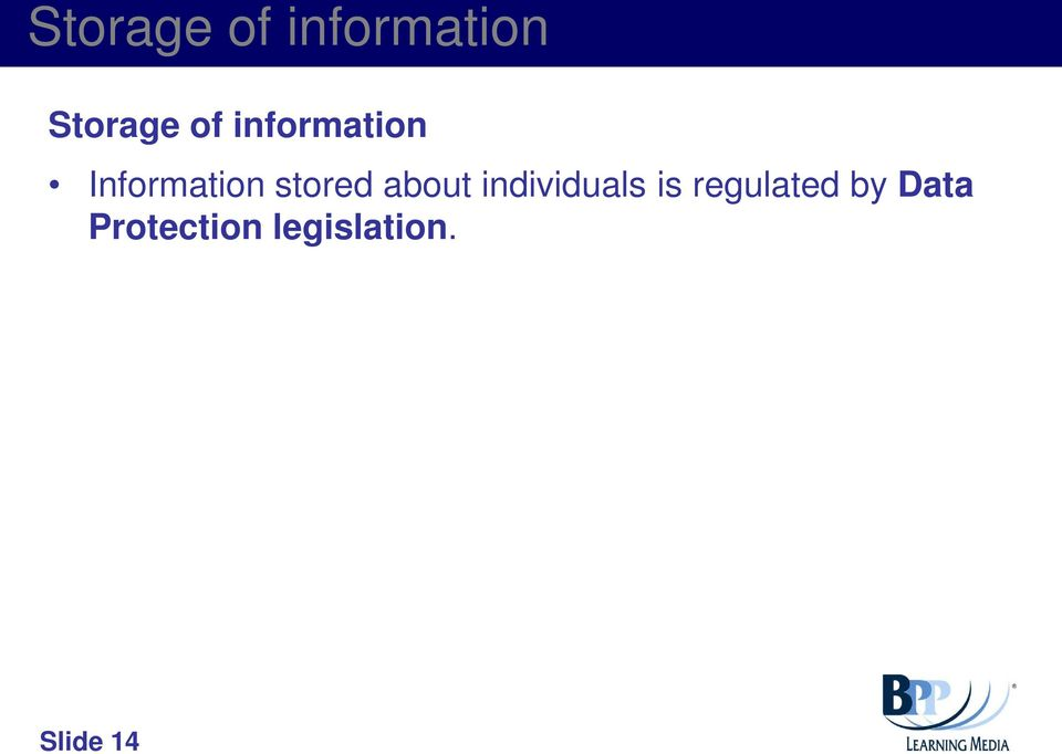 about individuals is regulated by