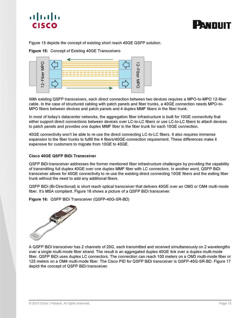 Simplified 40 Gbps Cabling Deployment Solutions With Cisco Nexus Duplex Switch Wiring Diagram Variations In The Case Of Structured Patch Panels And Fiber Trunks A 40ge Connection