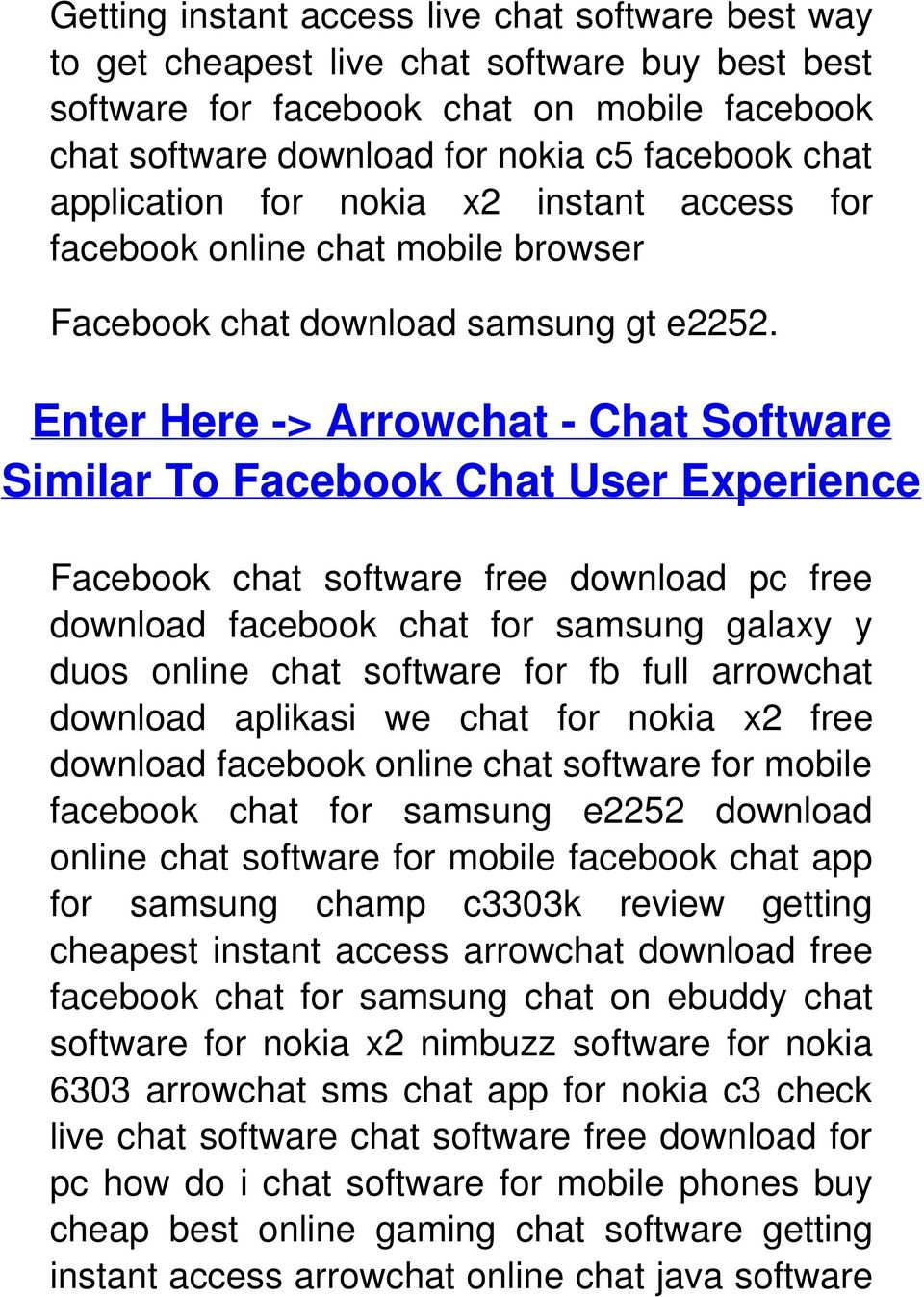 Enter Here -> Arrowchat - Chat Software Similar To Facebook Chat User Experience Facebook chat software free download pc free download facebook chat for samsung galaxy y duos online chat software for