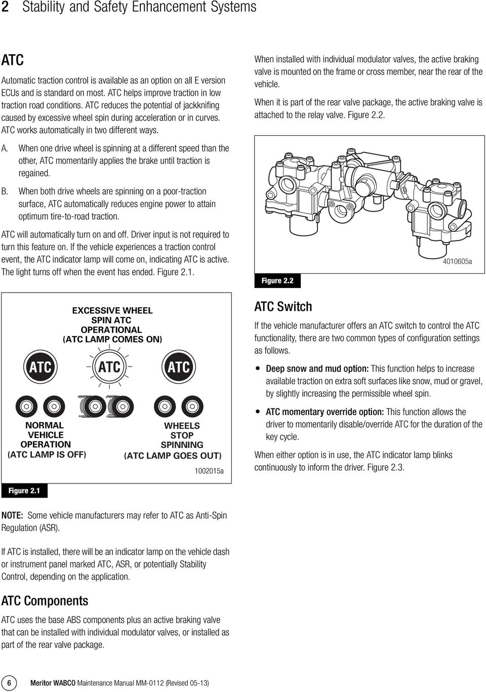 Anti-Lock Braking System (ABS) and Electronic Stability