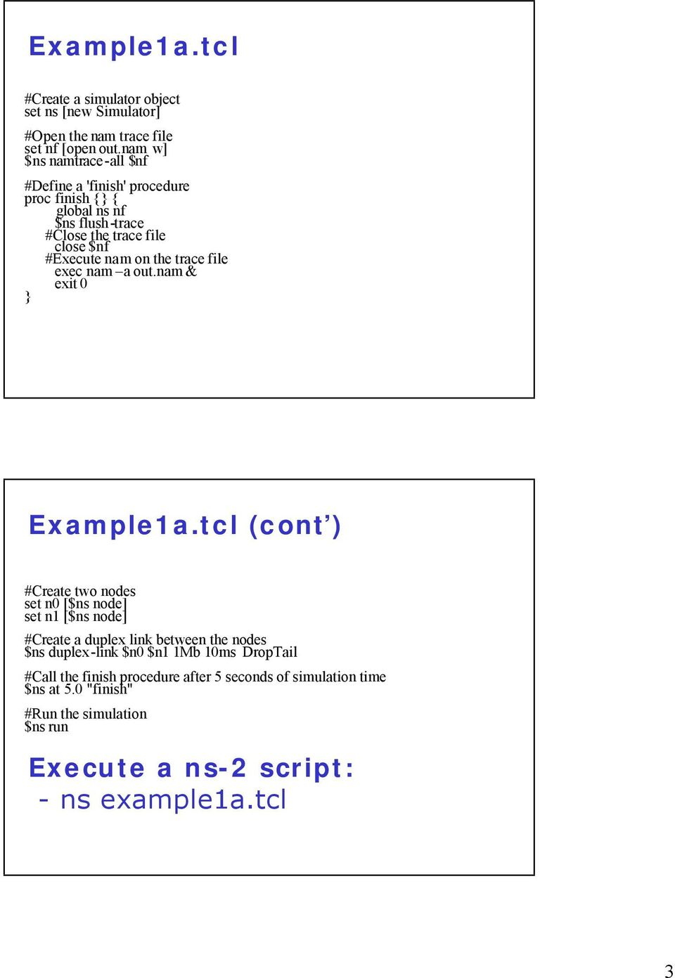 Trace File In Ns2