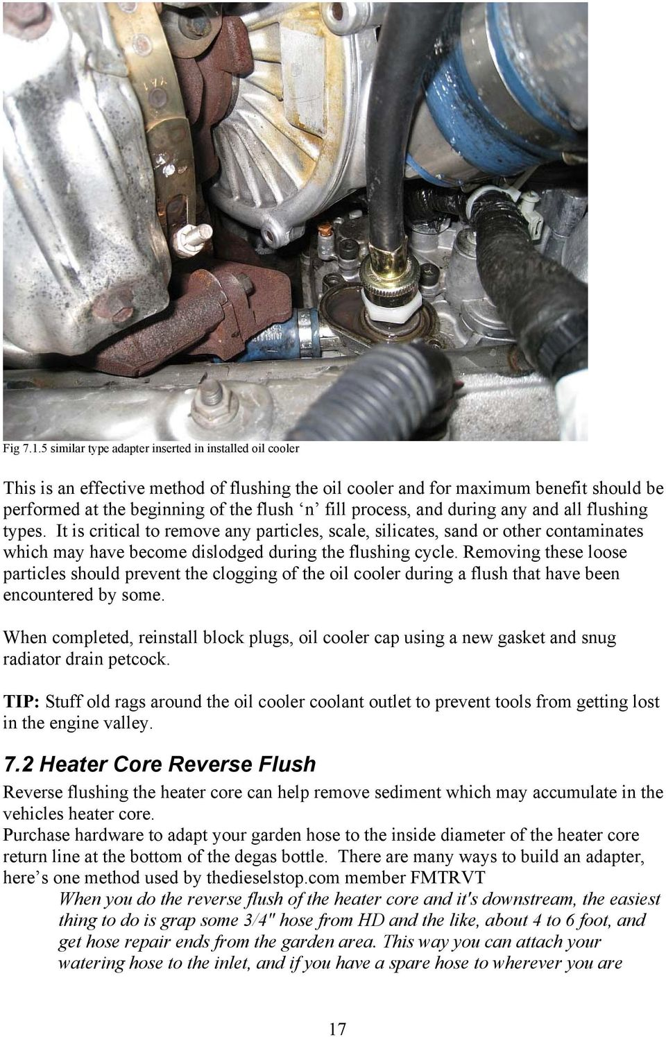 Ford Powerstroke 6 0L Turbo Diesel Cooling System Overview and Flush