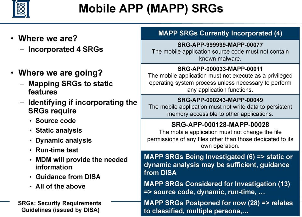 Risk-Rating Framework for Mobile Applications (Sponsored by