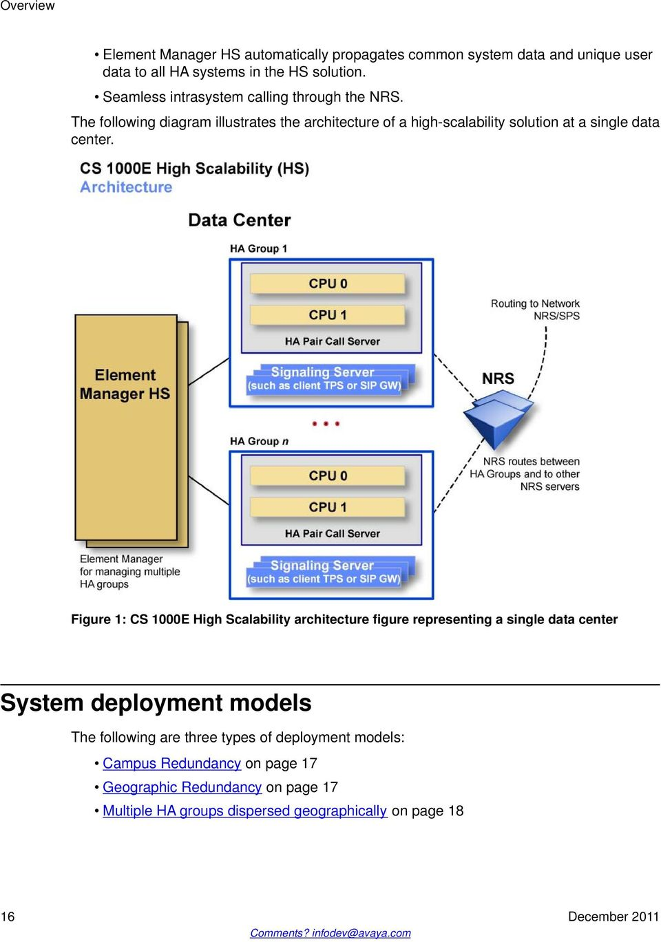 Communication Server 1000E Planning and Engineering High