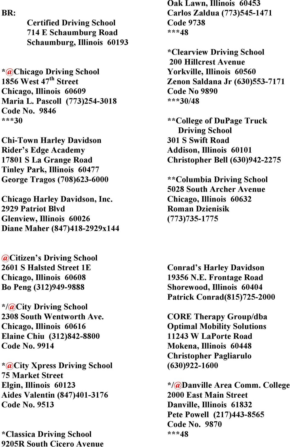 Teen Certified Cdl Certified Offers 3048 Hour Adult Driver