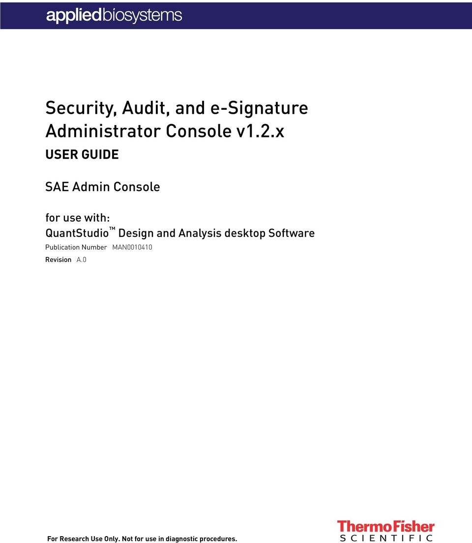Security Audit And E Signature Administrator Console V1 2 X Pdf Free Download