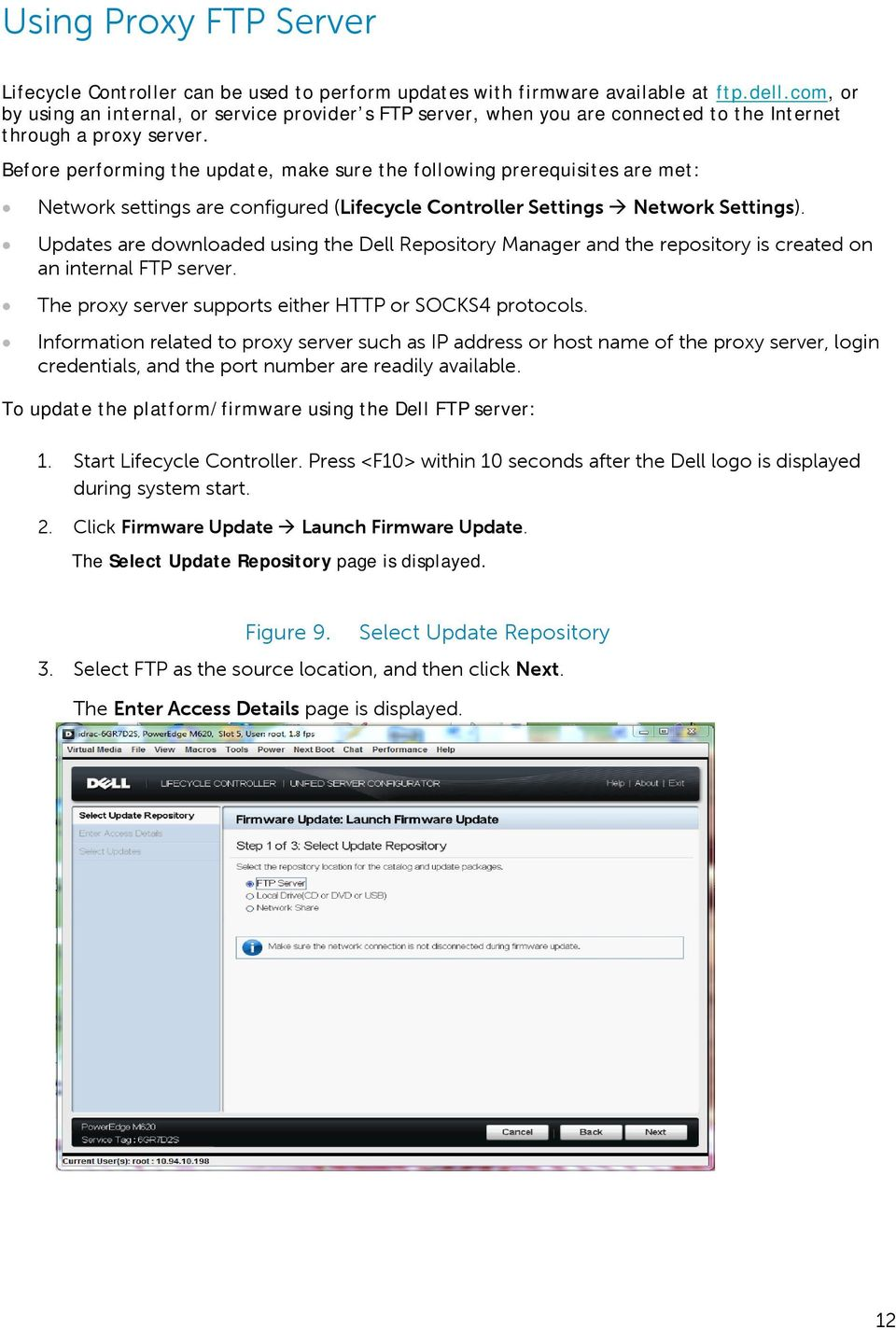 Dell Lifecycle Controller Firmware Update Ftp Username - gaurani