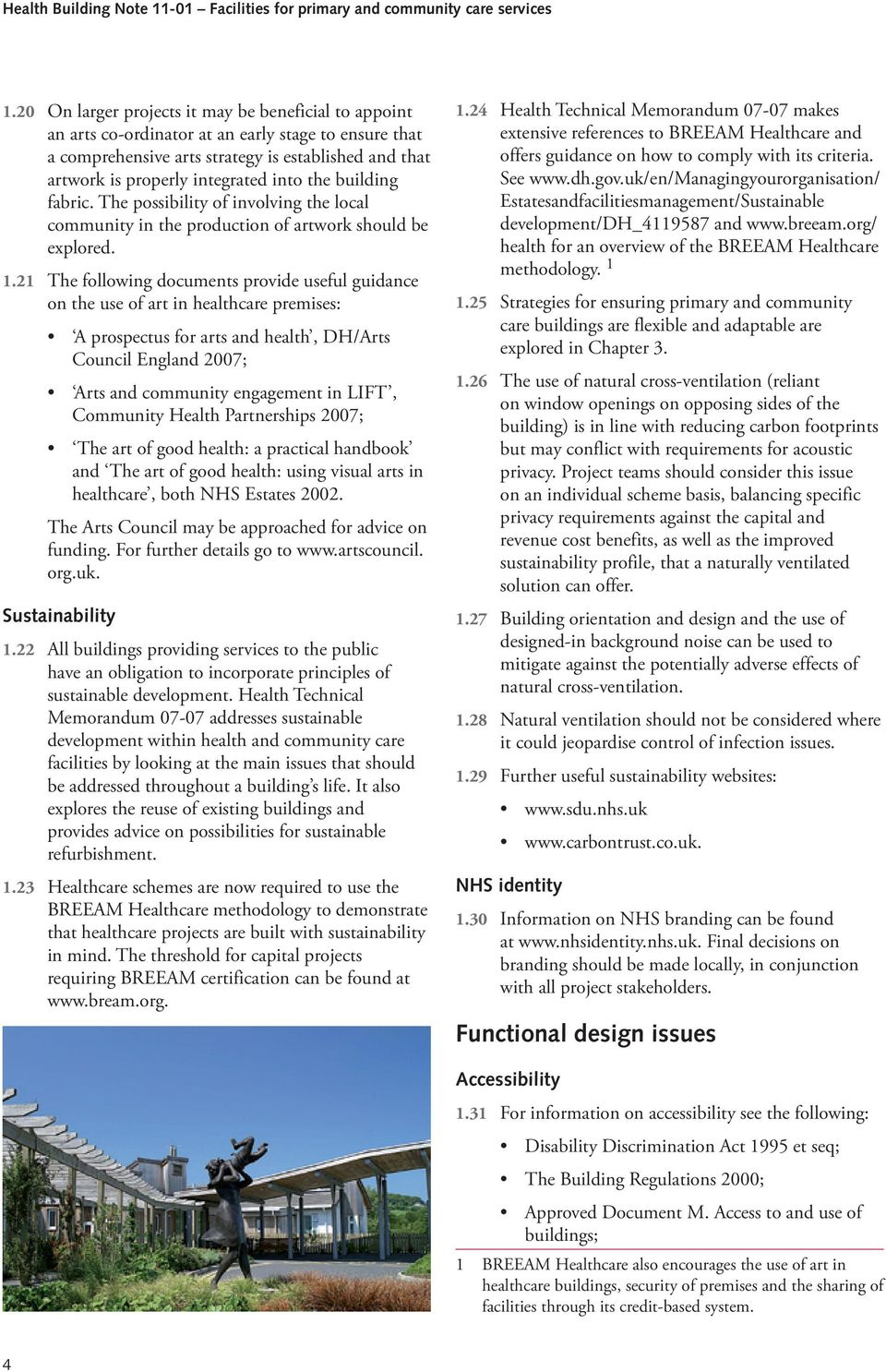 Health Building Note 11-01: Facilities for primary and