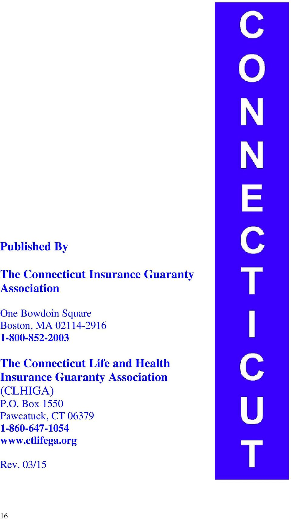 Connecticut Life and Health Insurance Guaranty Association