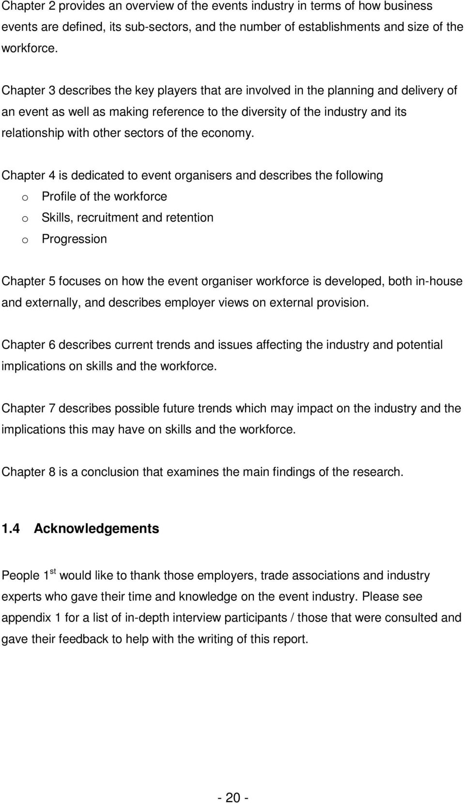 describe the skills required of an event organiser