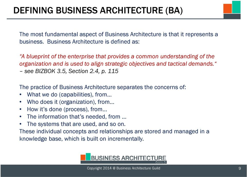 Business architecture and bpm alignment pdf see bizbok 35 section 24 p malvernweather Gallery