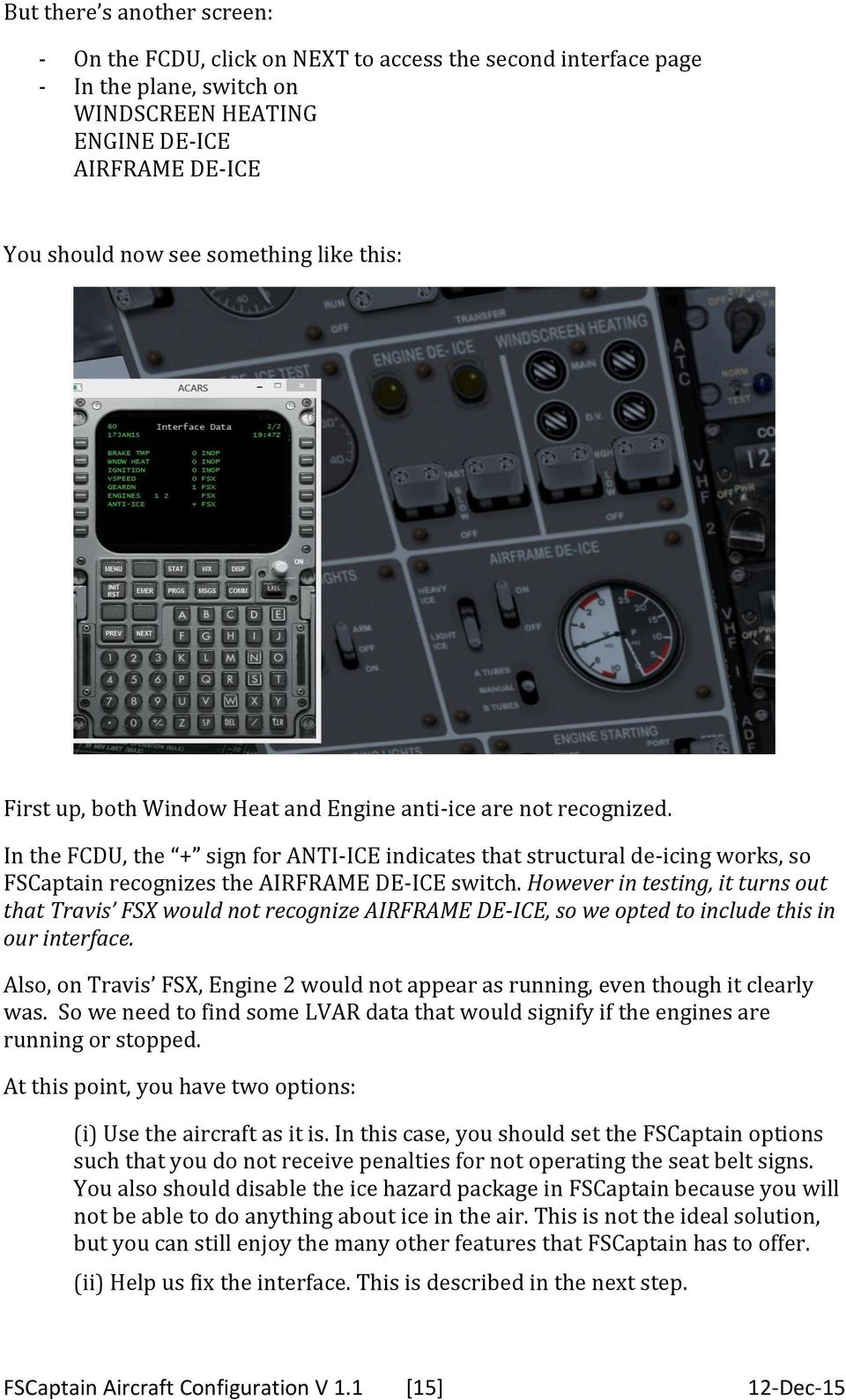How to configure a new airplane for FSCaptain Configuration files