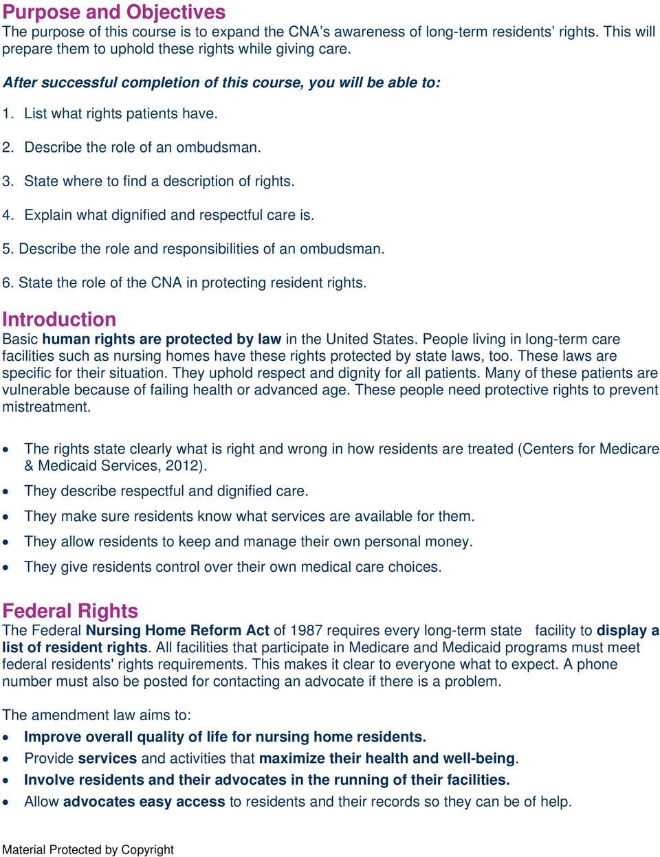 resident rights for florida cnas - pdf