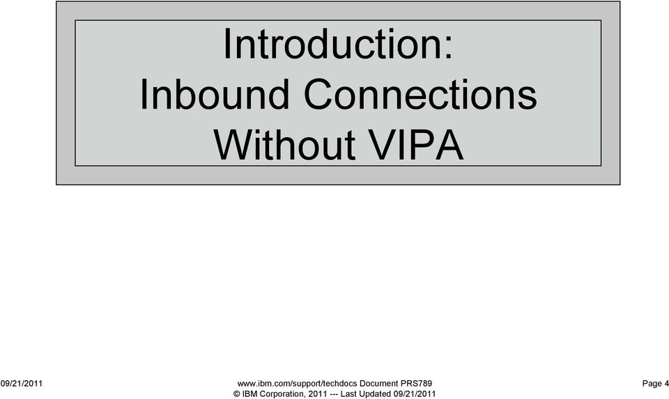 z/os Communications Server TCP/IP VIPA (Virtual IP Address) - PDF