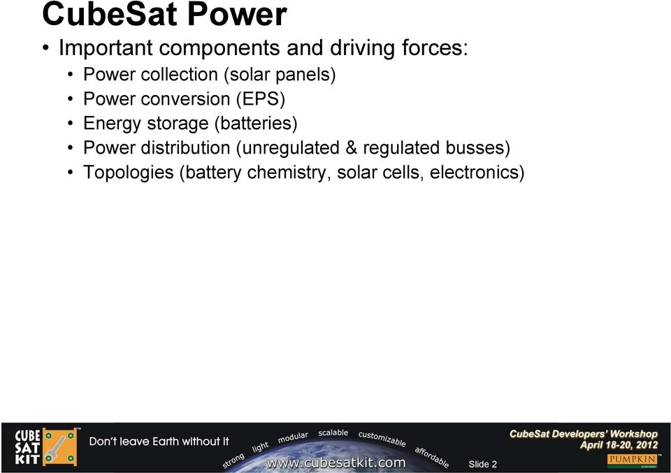Enhanced Power Systems for CubeSats - PDF