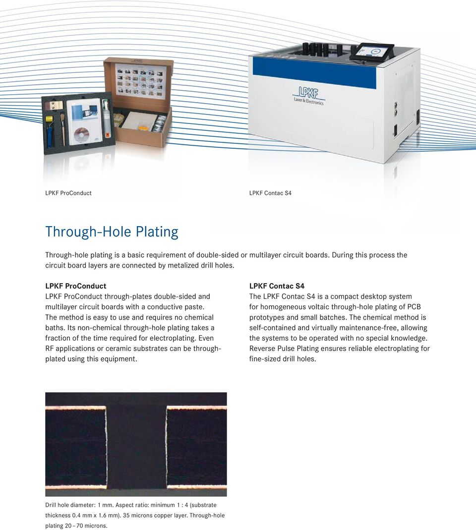 Get Pcb Prototypes Sooner With In House Rapid Prototyping Pdf Quality Laser Cutting Machines For Printed Circuit Board Fpc The Method Is Easy To Use And Requires No Chemical Baths Its Non