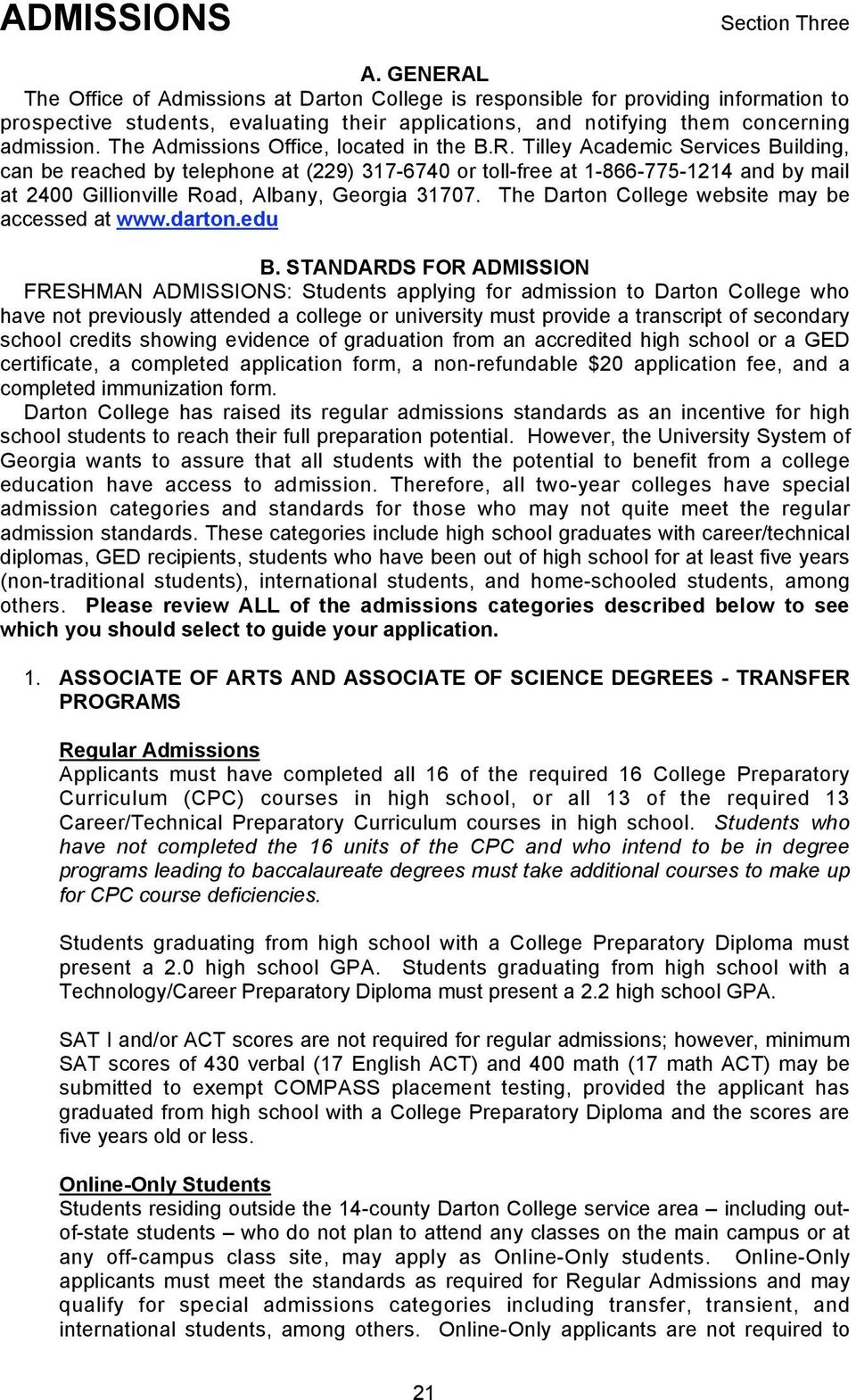 1 Associate Of Arts And Associate Of Science Degrees Transfer