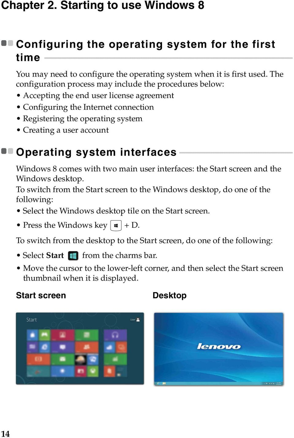 - - - - - - - - - - - - - - - - - - - - - - - - - - - - - - - - - - - - - - - - - - - - - - - - - You may need to configure the operating system when it is first used.