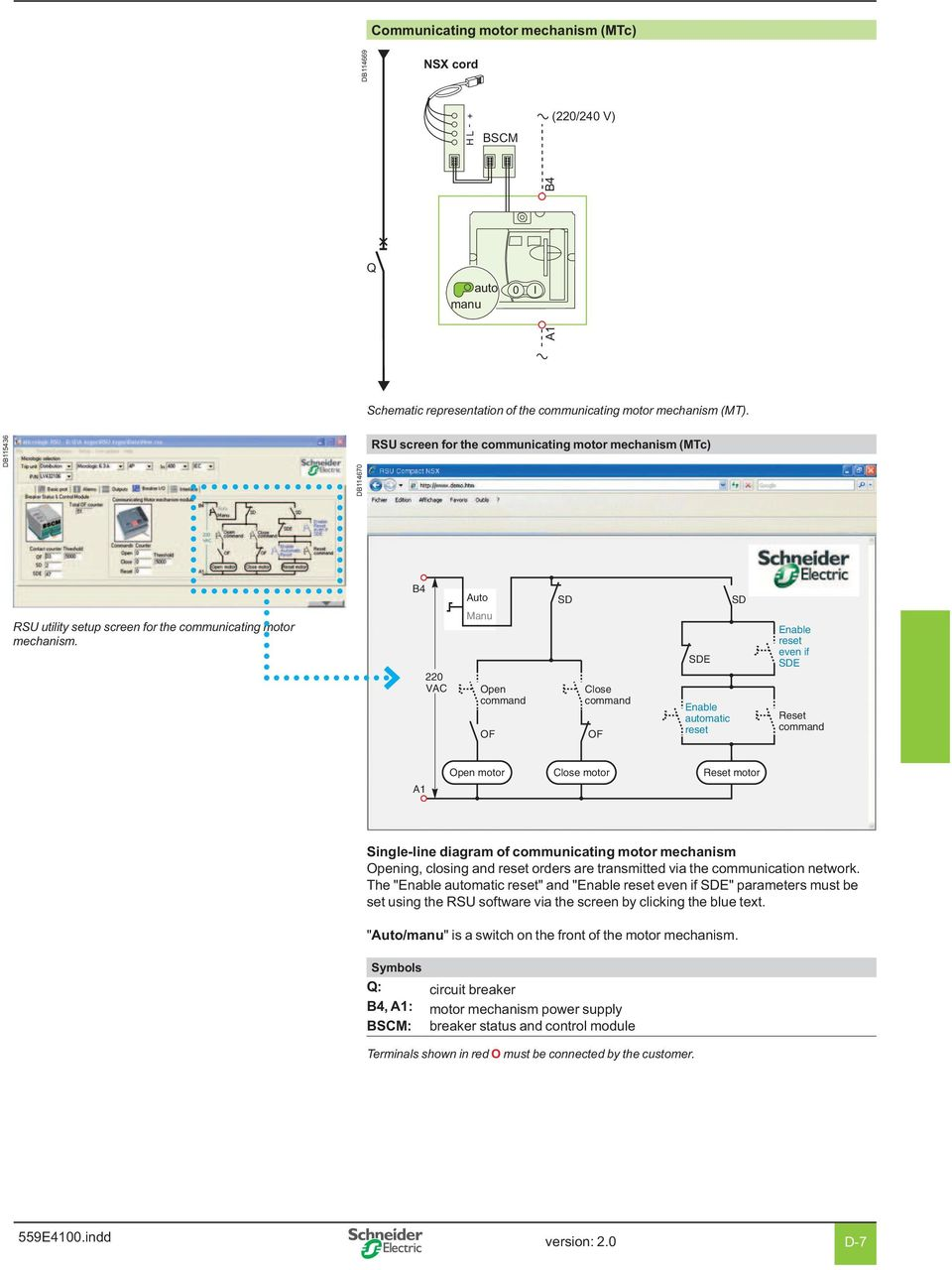 Wiring Diagrams Compact Nsx Contents Pdf 220 Motor Schematic Vac Auto Manu Command Of Sd Close Enable Matic Reset