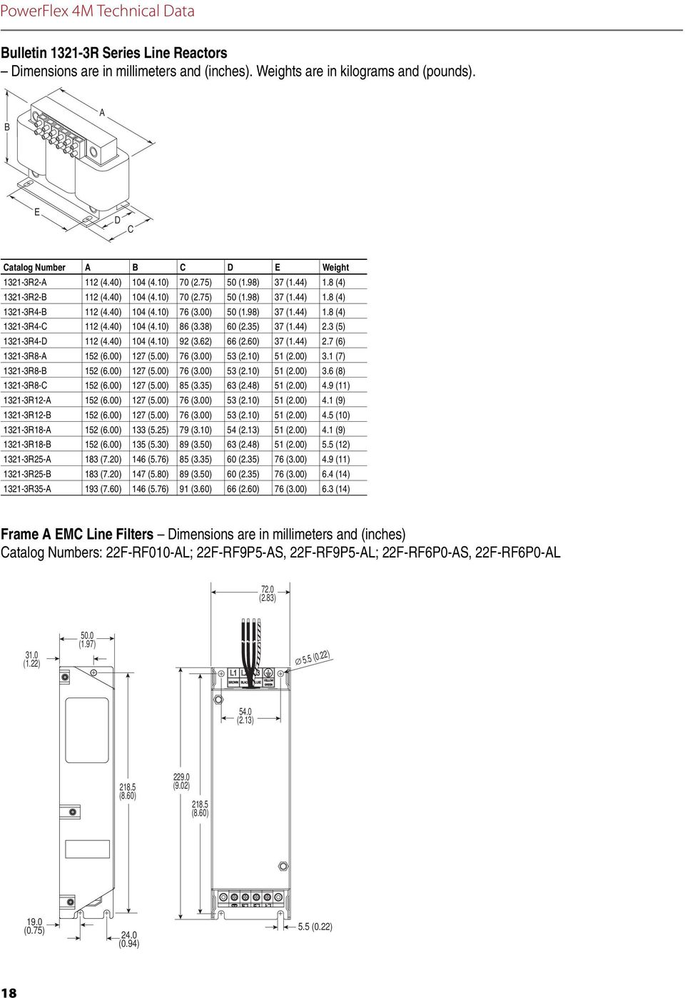 TECHNICAL DATA ADJUSTABLE FREQUENCY AC DRIVES - PDF