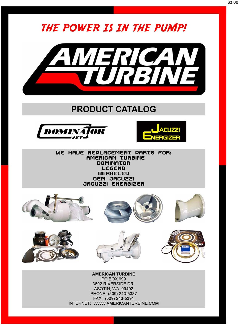 The Power Is In Pump Pdf Standard Whirlpool Tub Together With Fuel Wiring Diagram Dominator Legend Berkeley Oem Jacuzzi Energizer American Turbine