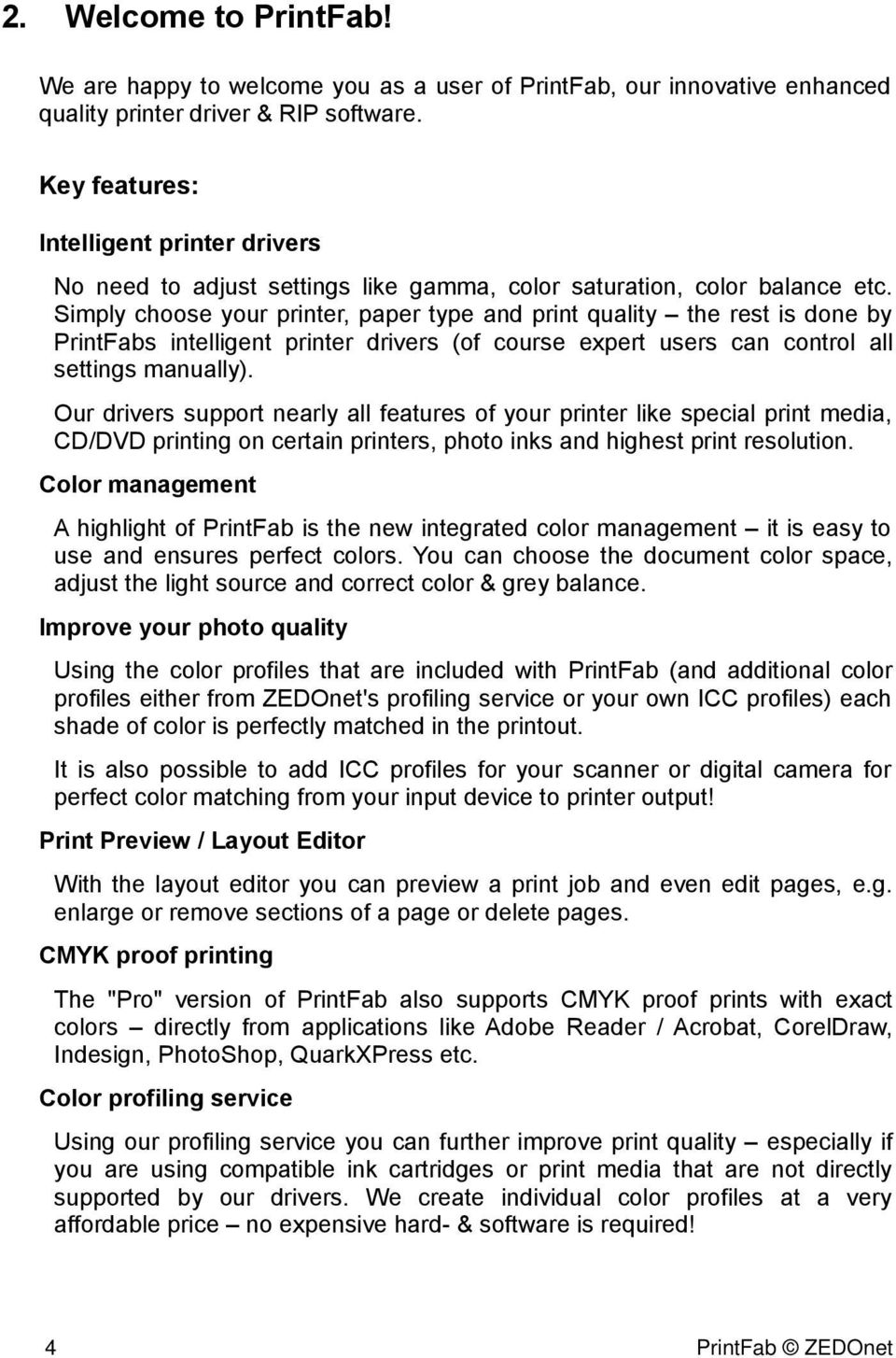 PrintFab  1  License terms  by ZEDOnet GmbH ZEDOnet GmbH