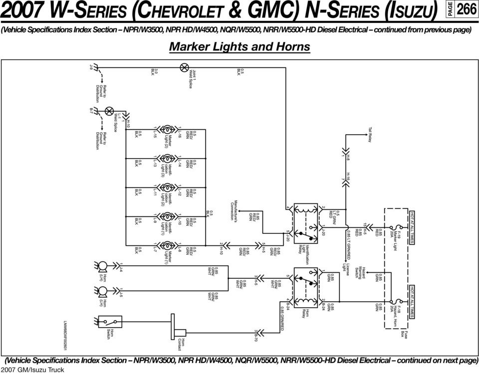 2007 gmc w4500 wiring diagram 2000 gmc w4500 wiring diagram heater 2007 w-series (chevrolet & gmc) n-series (isuzu) 250 npr ... #3
