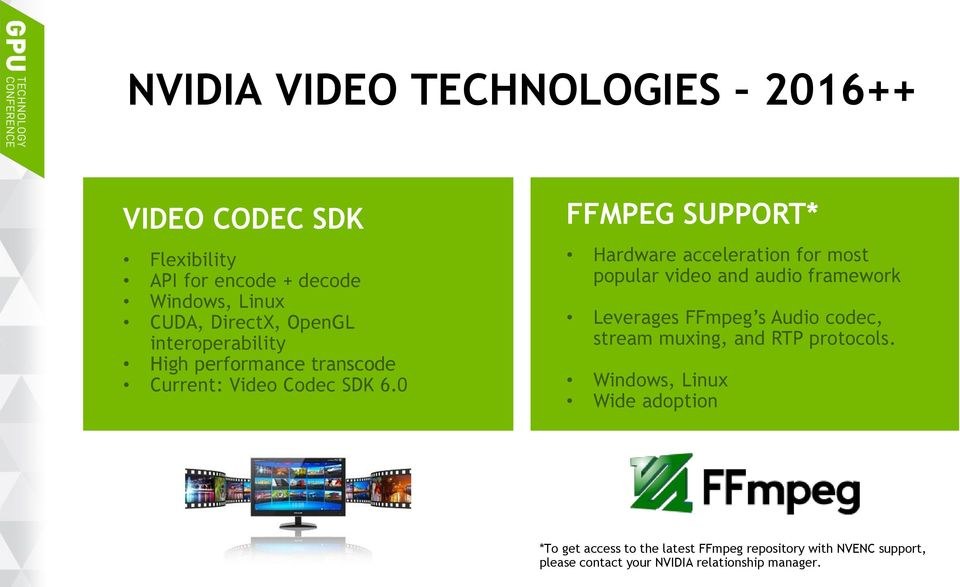 HIGH PERFORMANCE VIDEO ENCODING WITH NVIDIA GPUS - PDF