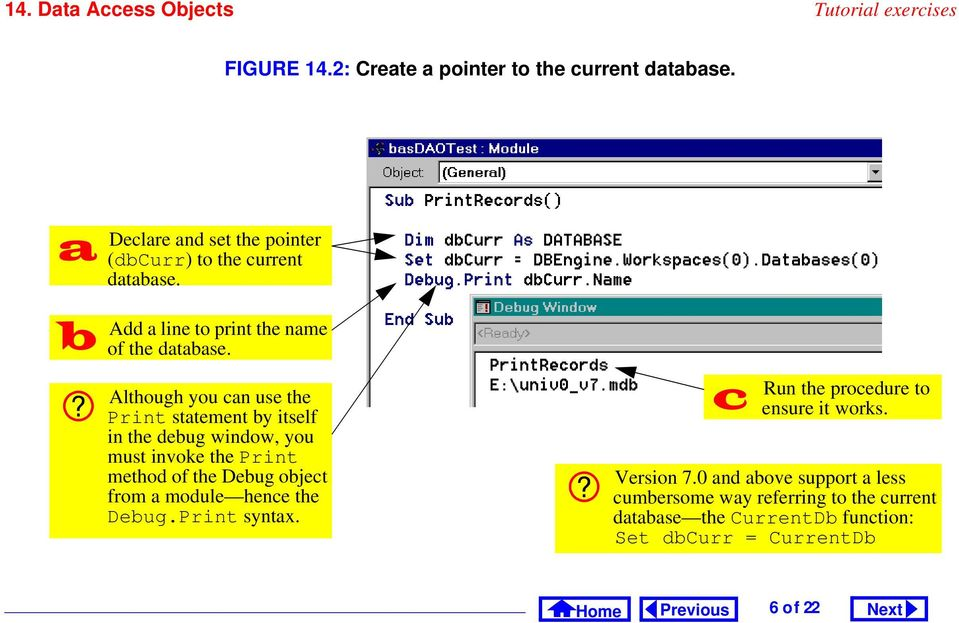 Access Tutorial 14: Data Access Objects - PDF