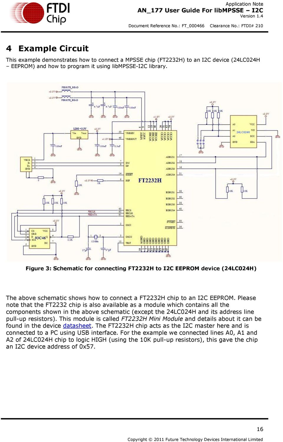 Application Note AN_177  User Guide For libmpsse I2C - PDF