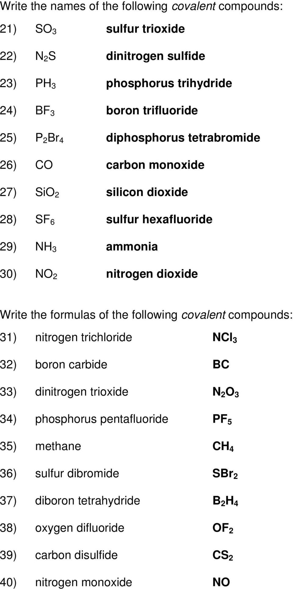 Naming Ionic Compounds Answer Key Pdf Free Download