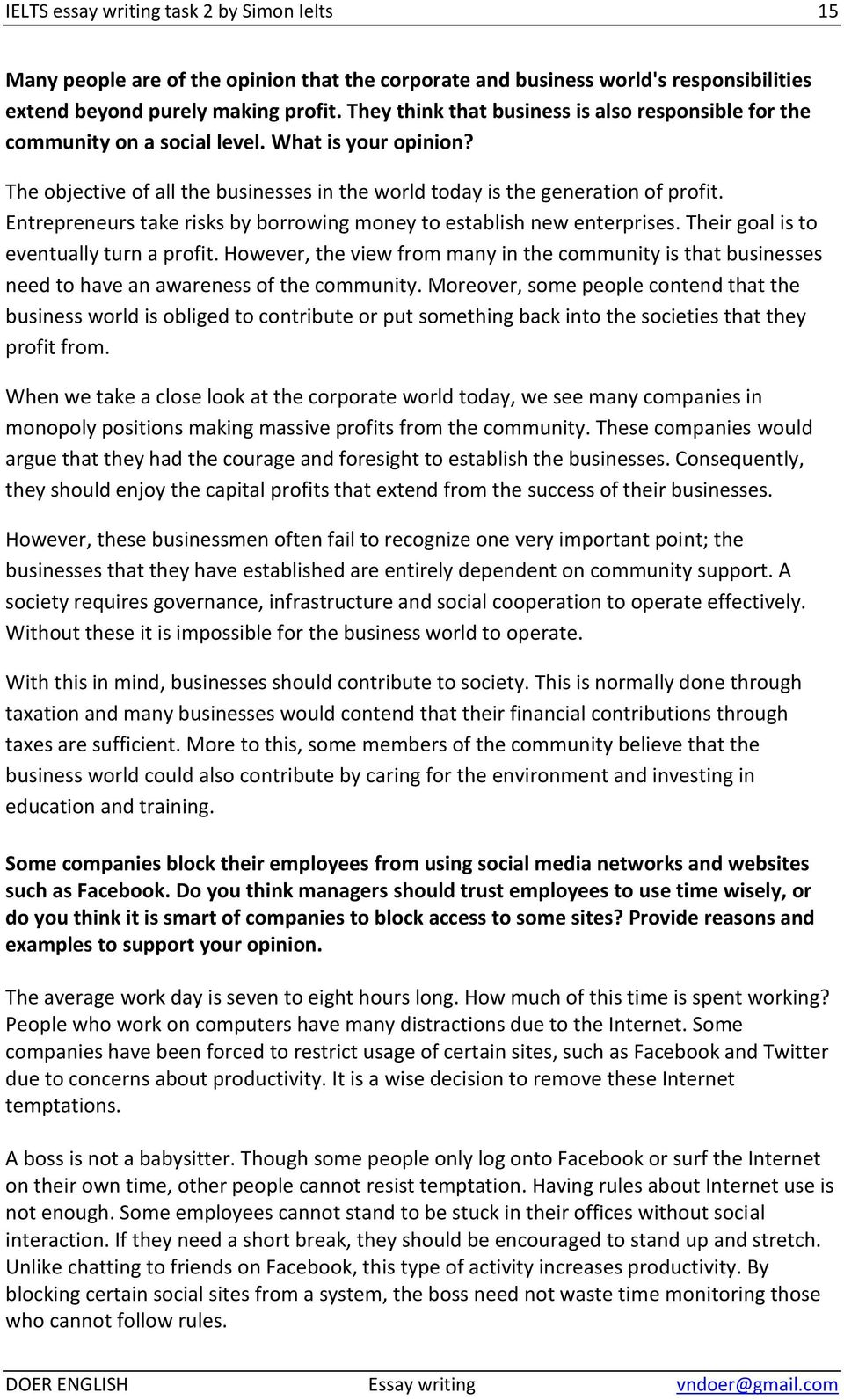 Thinking About Corporate Social Responsibility Essay Ebook Whirlpool 677818l Dryer Manual For Gas And Electric Dryers Array Ielts Writing Task 2 By Simon 1 Common Topics Pdf Rh