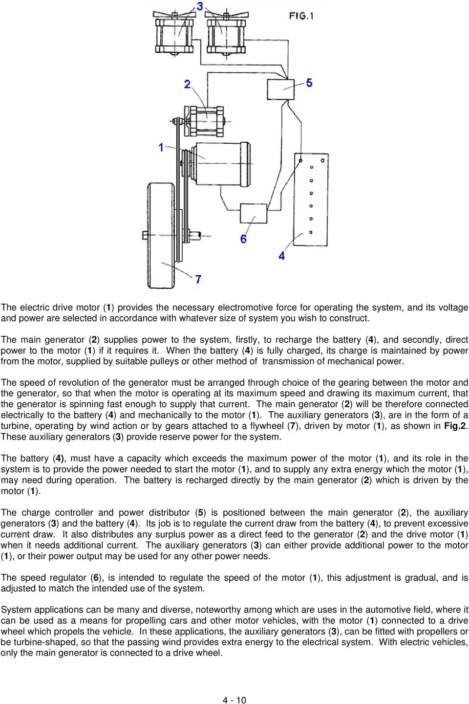 Chapter 4 Gravity Powered Systems Pdf Alternating Current Generator Diagram Besides Bedini Motor When The Battery Is Fully Charged Its Charge Maintained By Power