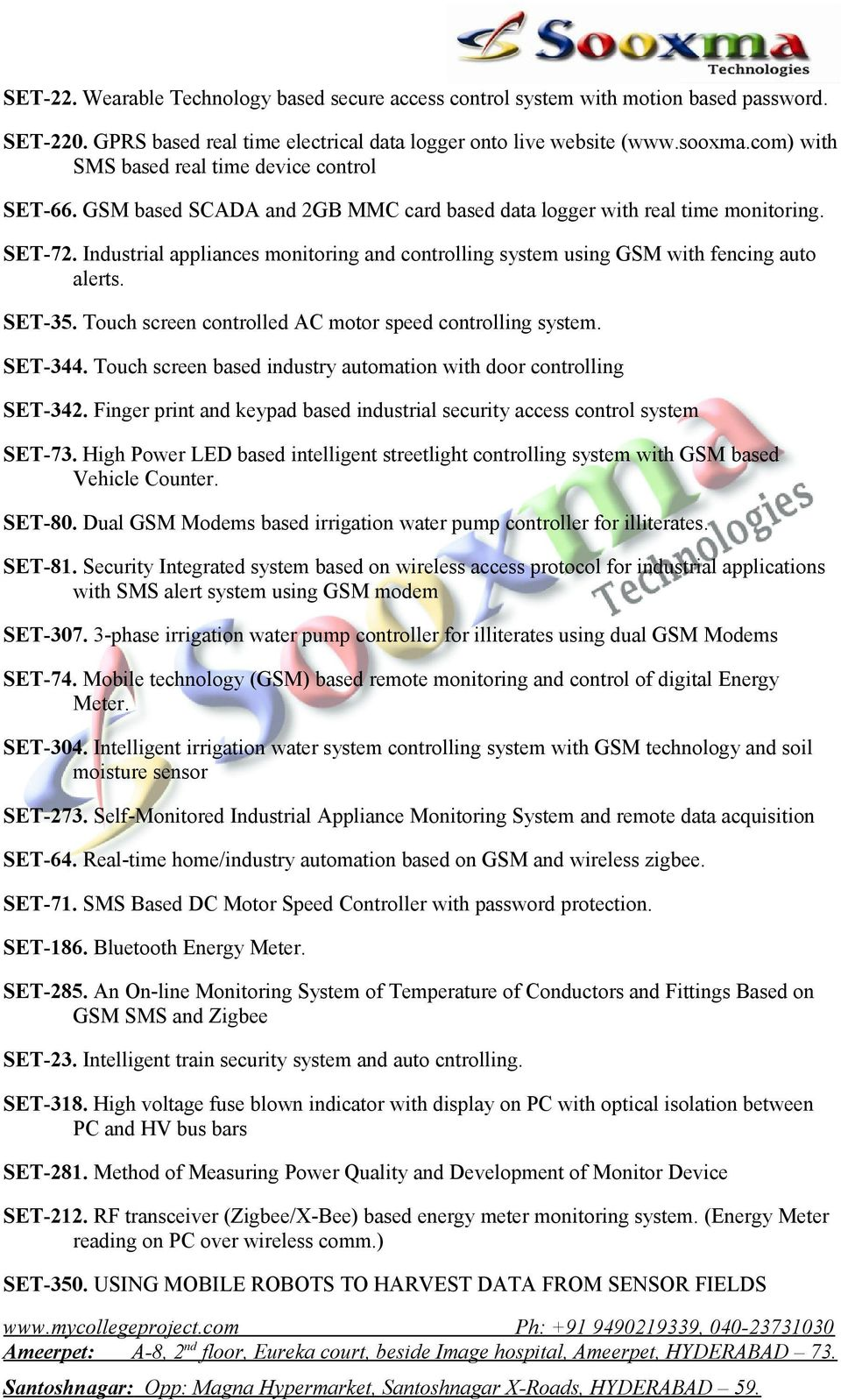 Innovative Eee Final Projects List Pdf Devices And Control Eg Interfacing With Gsm Modem Controlling Industrial Appliances Monitoring System Using Fencing Auto Alerts Set 35