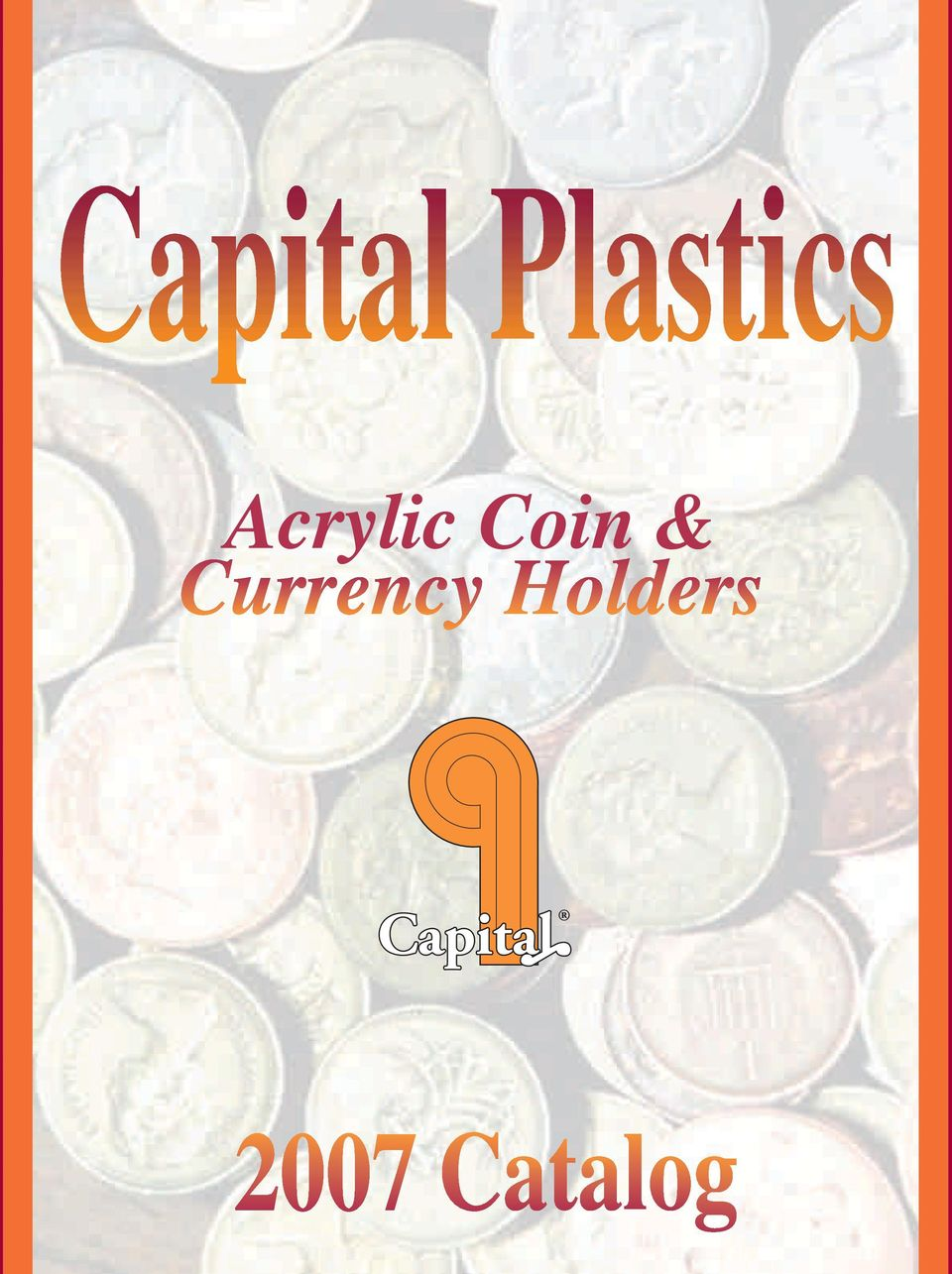 Capital Plastic Coin Holder 460G United States Gold Coins Type Set White