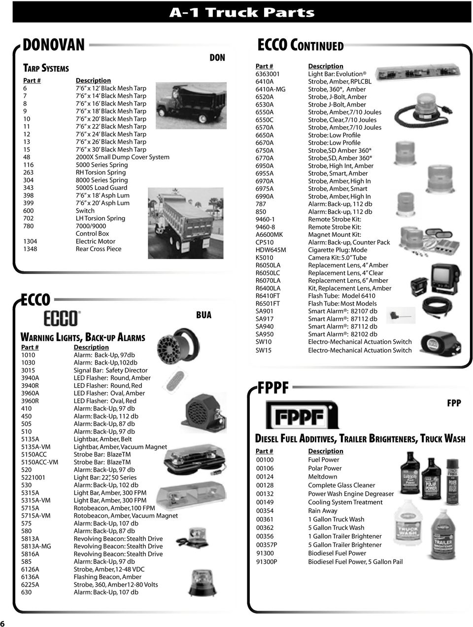 a-1 truck parts a-1 truck speciality parts book index