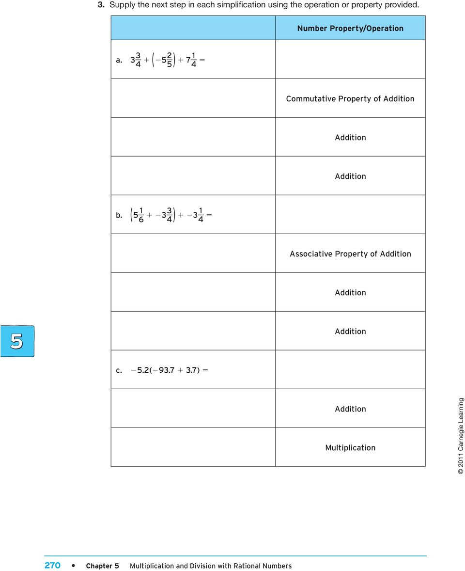 Multiplication and Division with Rational Numbers - PDF