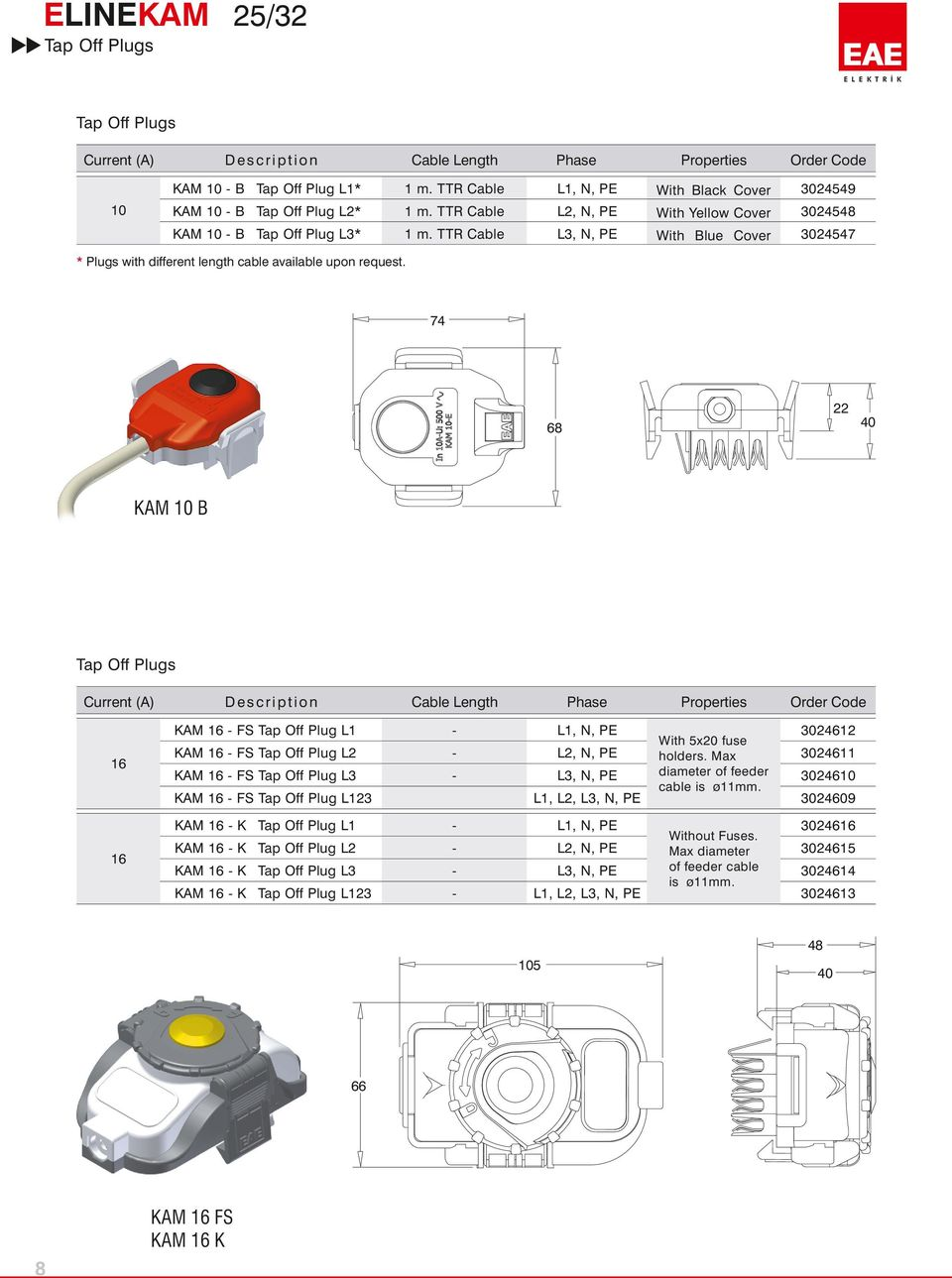 Kam A Lighting Busbar System Kap Plug In Distribution Wire Light Switch Uk L1 L2 L3 Ttr Cable N Pe Plugs With Different Length Available Upon Request