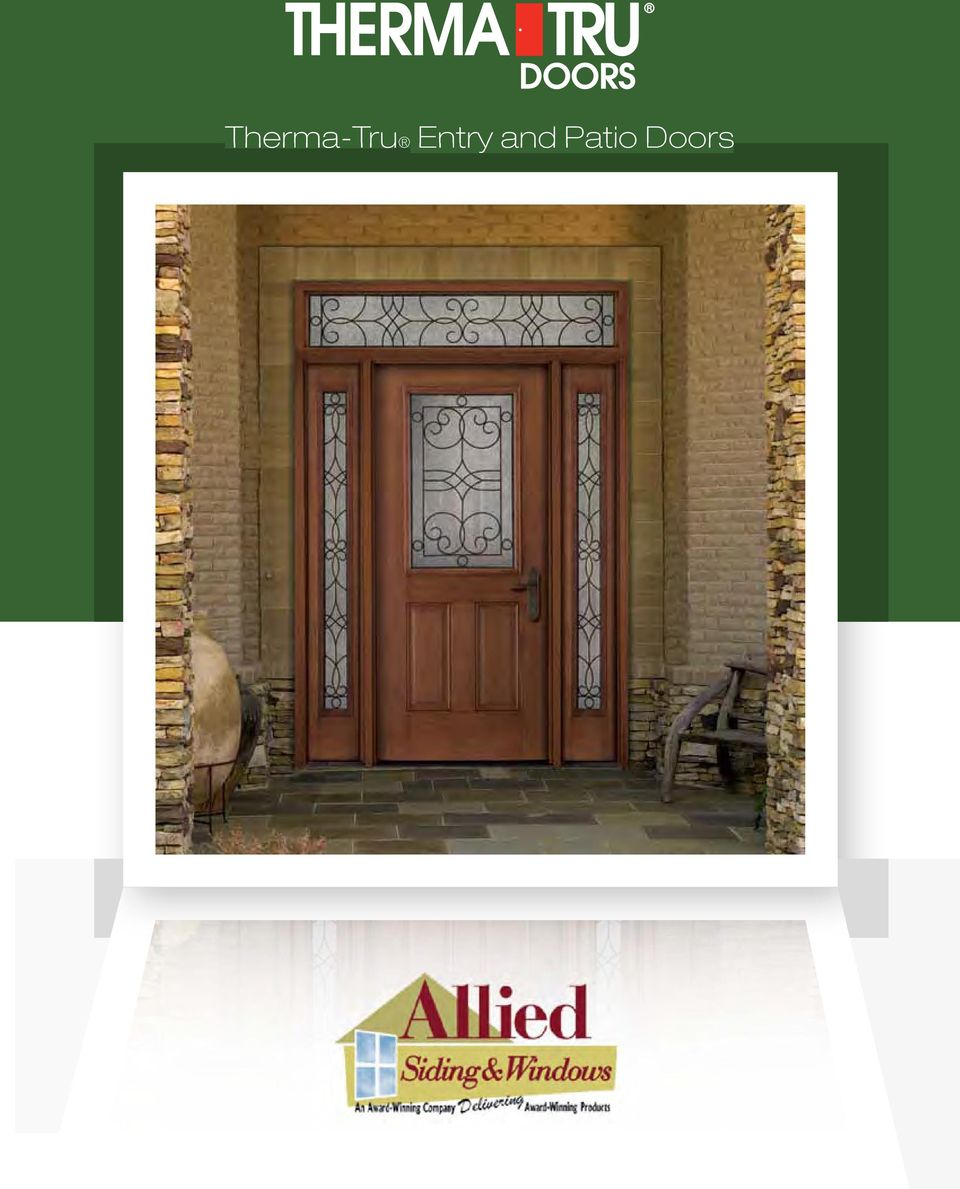Therma-Tru Entry and Patio Doors - PDF