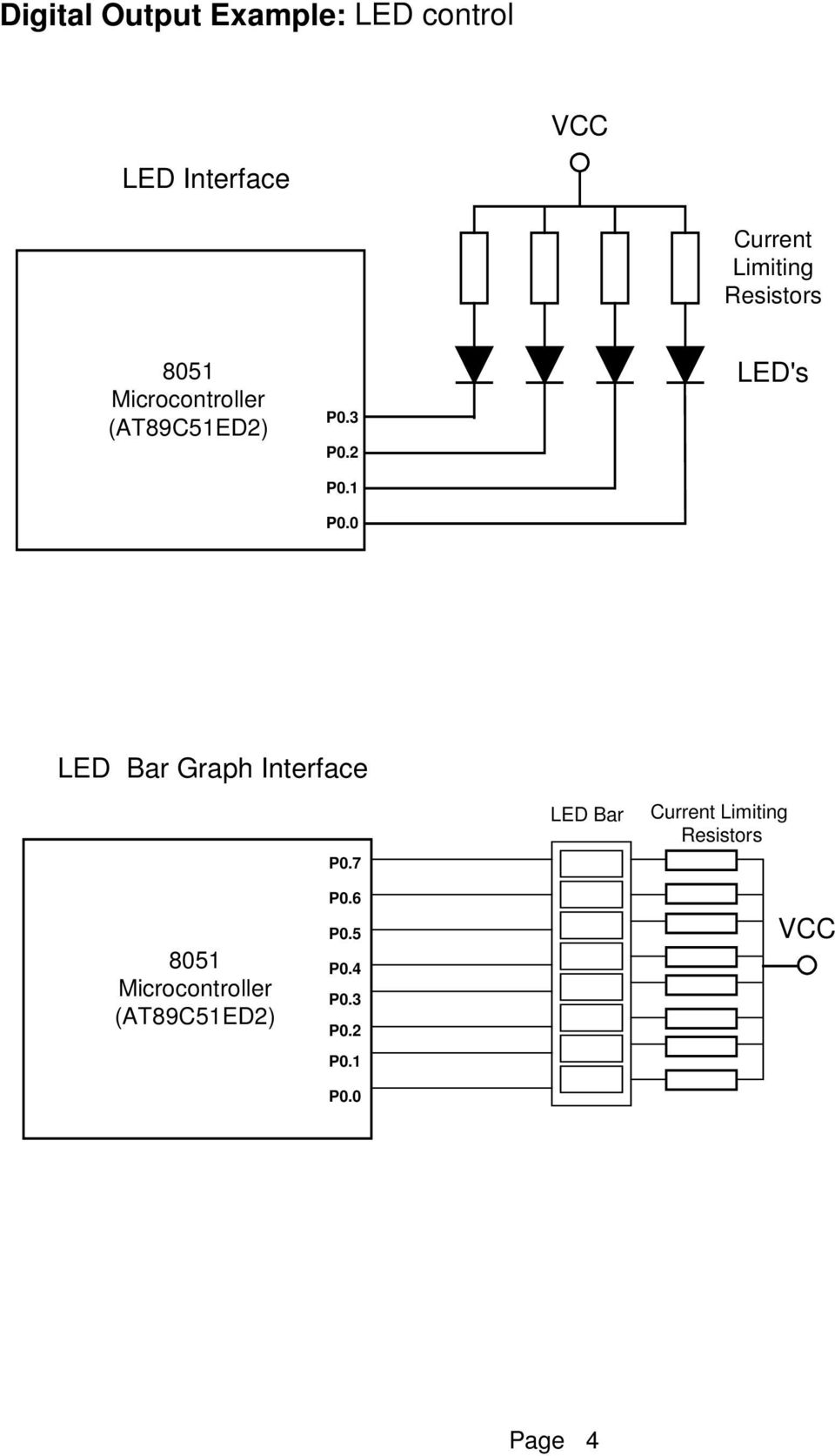 Microcontroller Display Interfacing Techniques Pdf Circuitdiagramtointerfacebuzzerwithavrslicker 0 Leds Led Bar Graph Interface P0