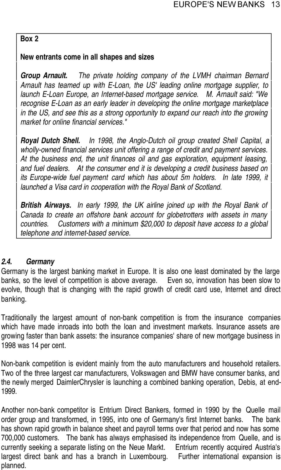 "europe's new banks the ""non-bank"" phenomenon - pdf"