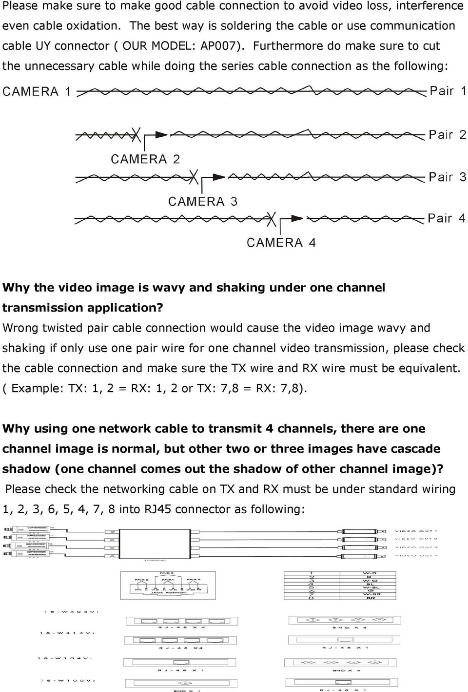 Frequently Asked Questions Pdf Wiring Using One Pair Of Powerline Adapters Pointtopoint Furthermore Do Make Sure To Cut The Unnecessary Cable While Doing Series Connection As