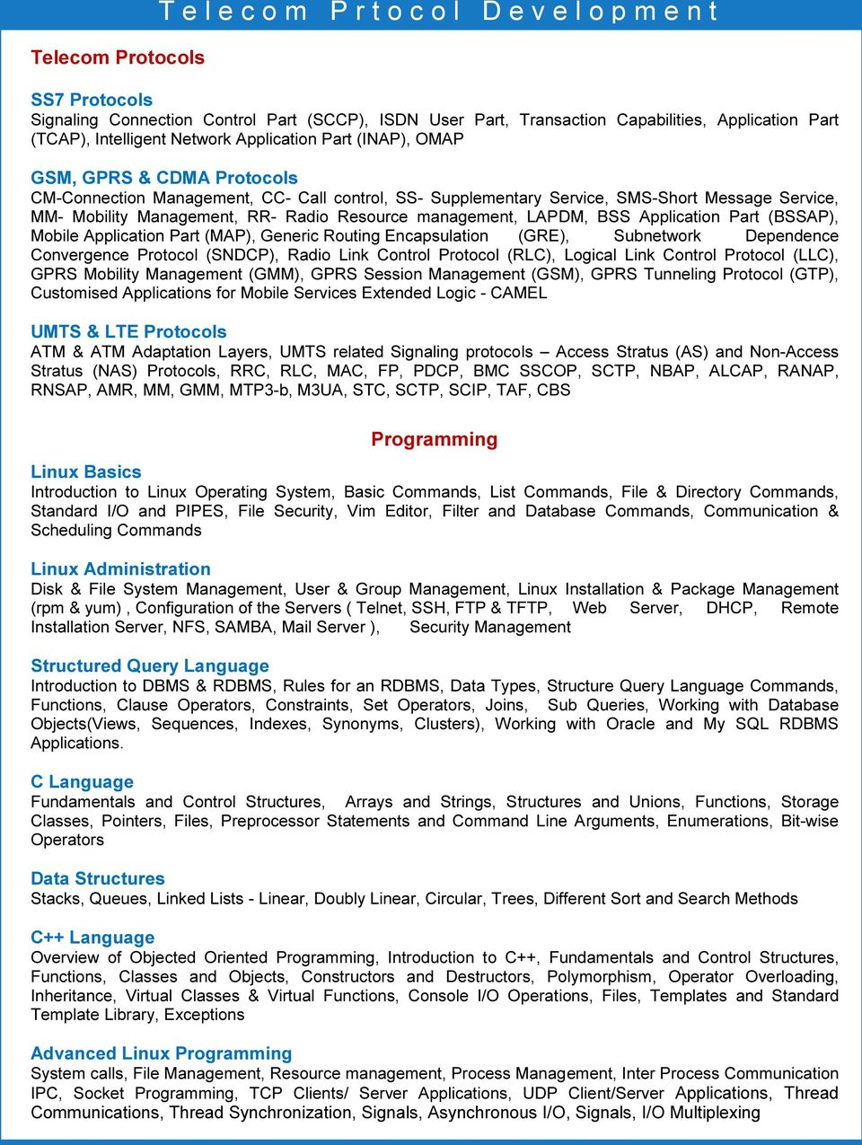 Telecom Industry is Calling You   - PDF