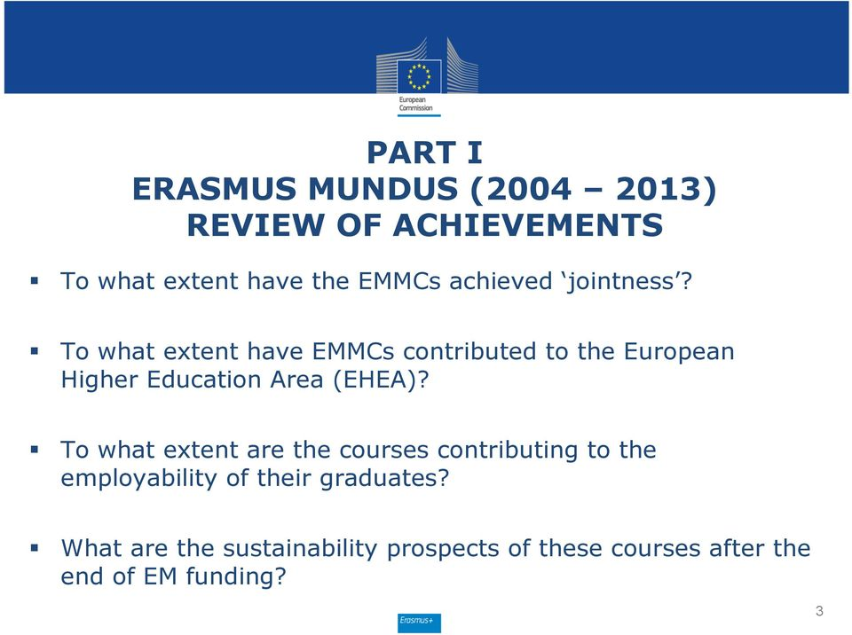 To what extent have EMMCs contributed to the European Higher Education Area (EHEA)?