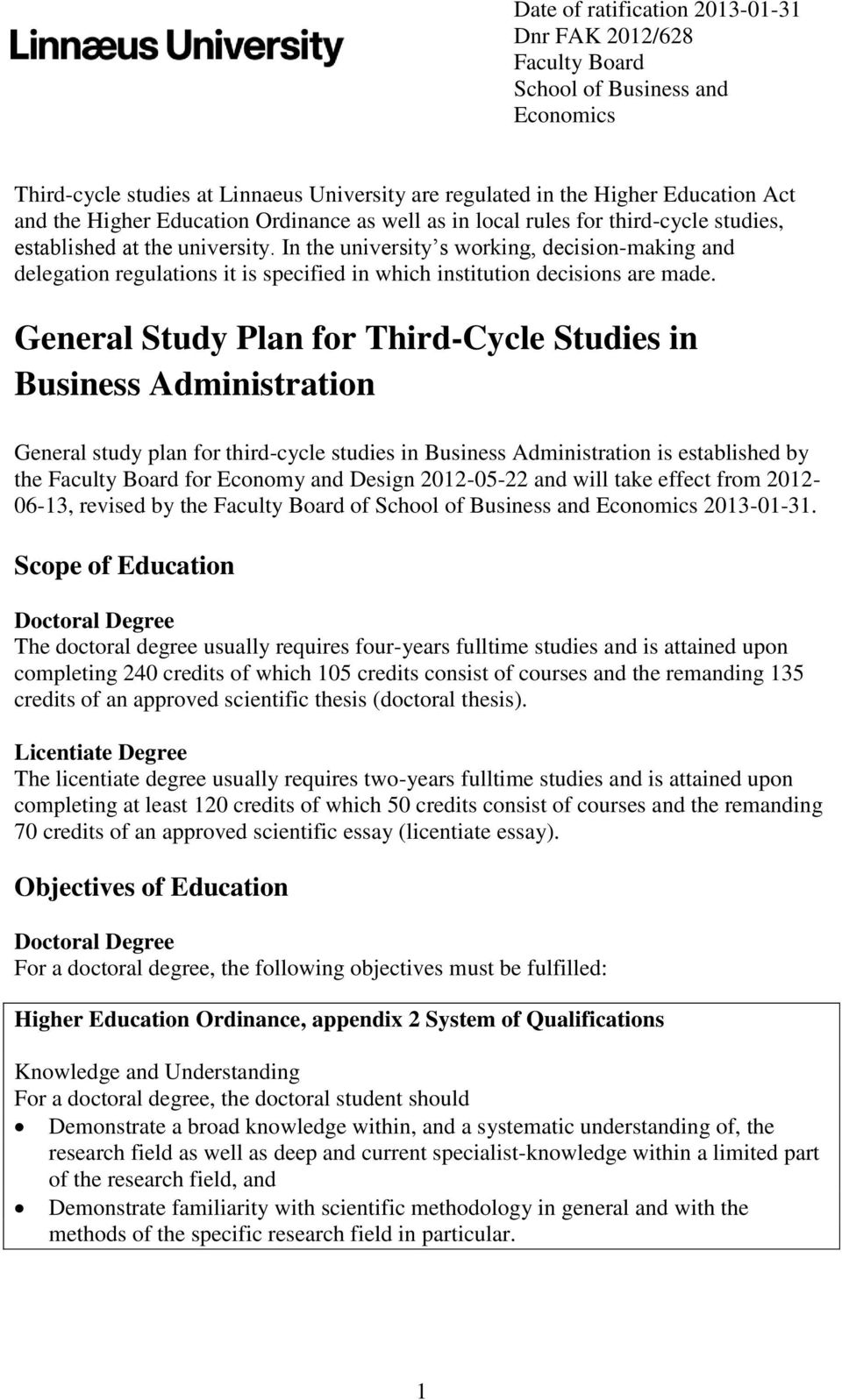 why study business administration essay