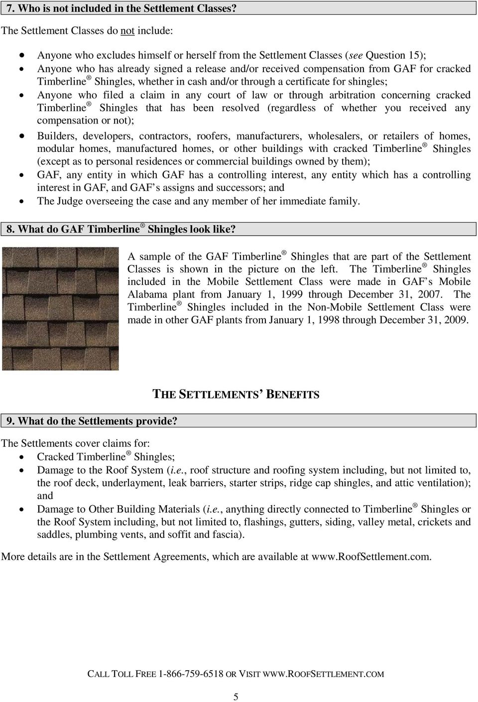 If You Own Property With Gaf Timberline Roofing Shingles